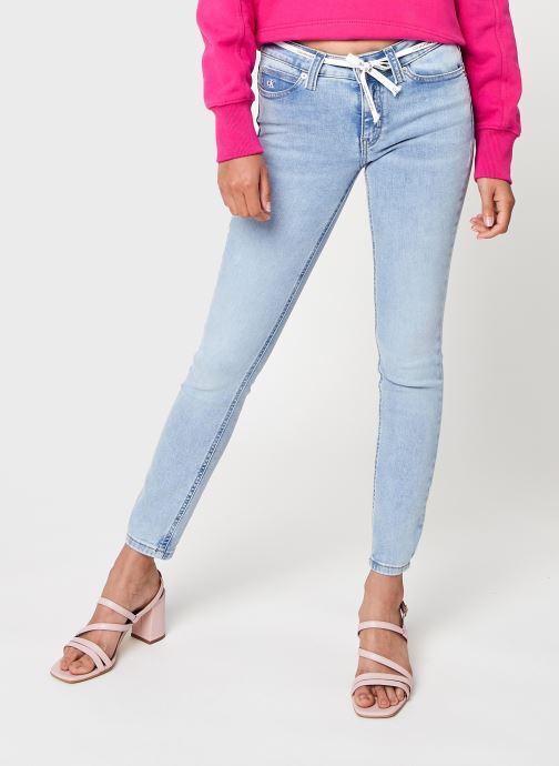 Abbigliamento Calvin Klein Jeans Mid Rise Skinny Ankle Azzurro vedi dettaglio/paio