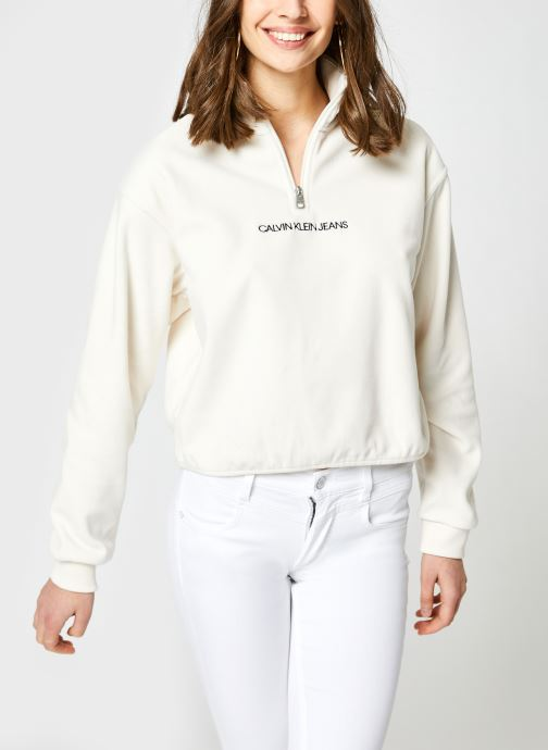 Kleding Accessoires Polar Fleece Half Zip Sweatshirt