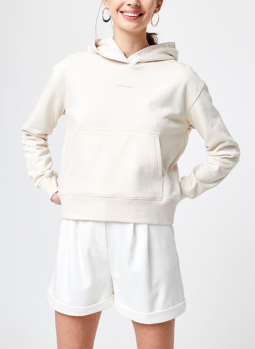 Vêtements Accessoires Logo Trim Hoodie
