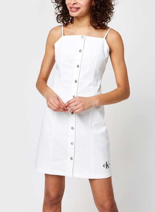 Robe mini - Cotton Twill Button