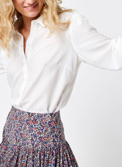 Kleding MOSS COPENHAGEN Ellene Melody Shirt Wit detail