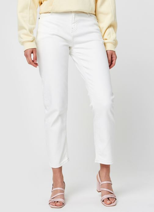 Ropa MOSS COPENHAGEN Adrina Melanie Ankle Pants Blanco vista de detalle / par