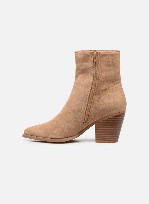 Bottines et boots Vanessa Wu BT2156 Beige vue face