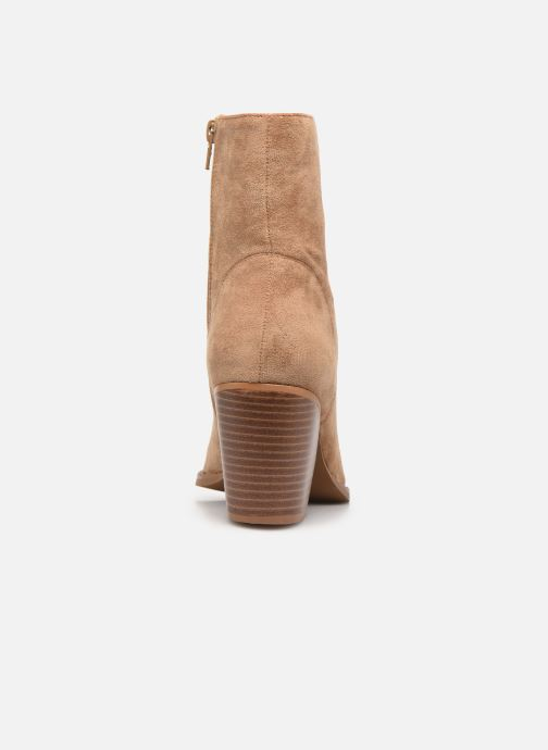 Bottines et boots Vanessa Wu BT2156 Beige vue droite