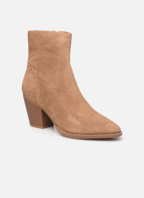 Bottines et boots Vanessa Wu BT2156 Beige vue détail/paire