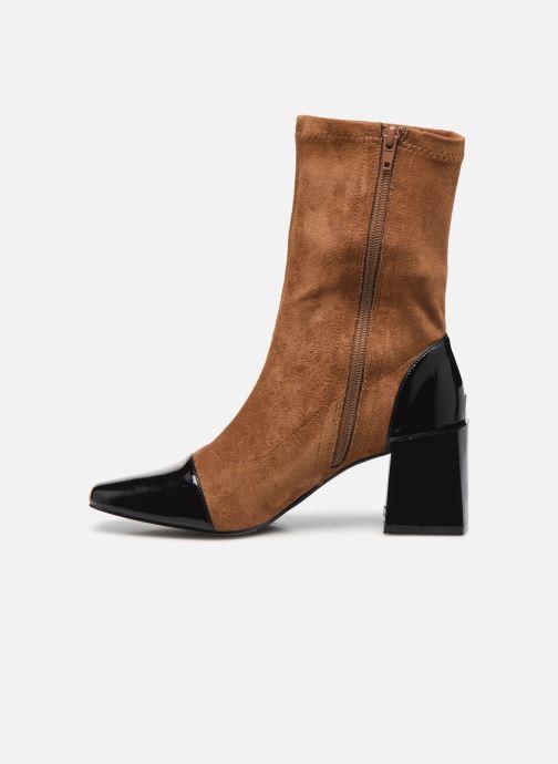 Bottines et boots Vanessa Wu BT2179 Beige vue face