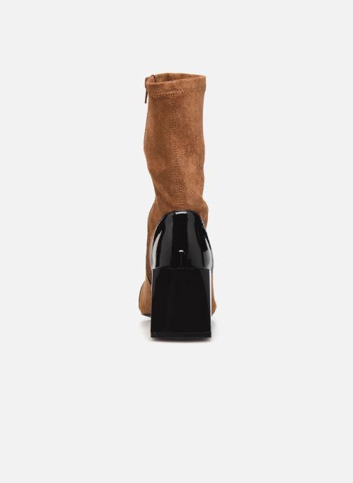 Bottines et boots Vanessa Wu BT2179 Beige vue droite