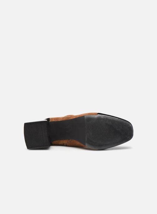 Bottines et boots Vanessa Wu BT2179 Beige vue haut