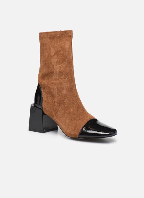 Bottines et boots Vanessa Wu BT2179 Beige vue détail/paire