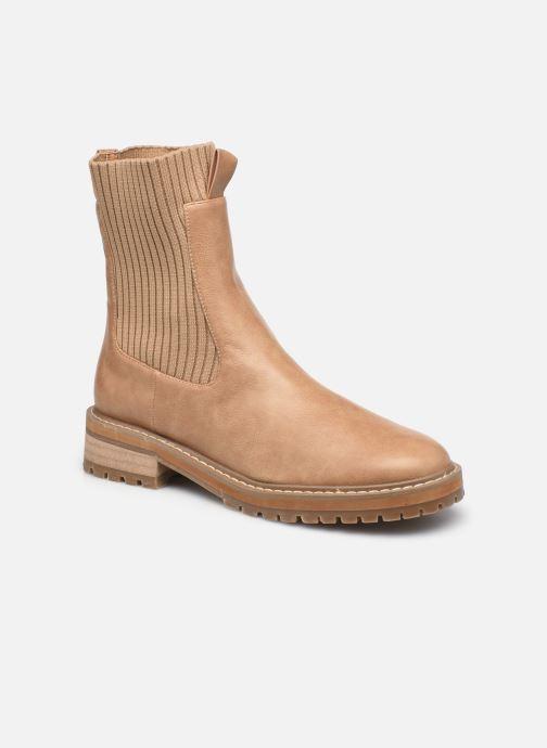 Bottines et boots Vanessa Wu BT2202 Beige vue détail/paire