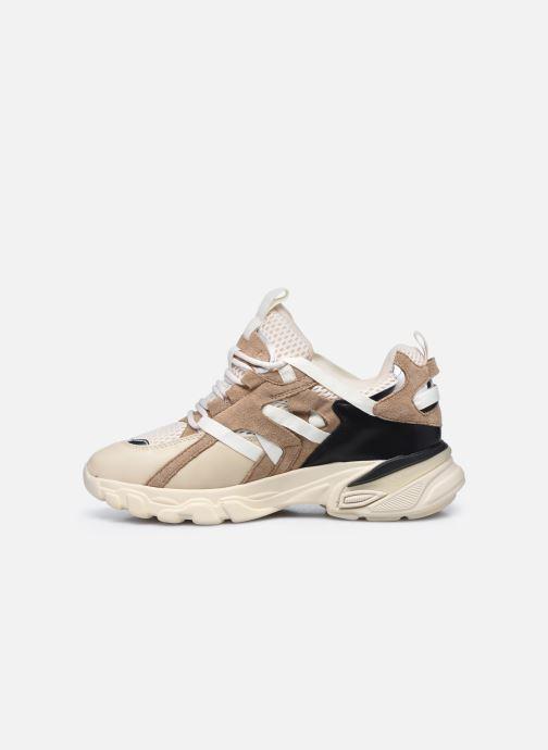 Sneaker Vanessa Wu BK2201 beige ansicht von vorne