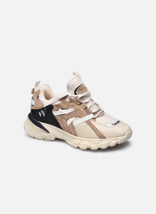 Sneaker Vanessa Wu BK2201 beige detaillierte ansicht/modell
