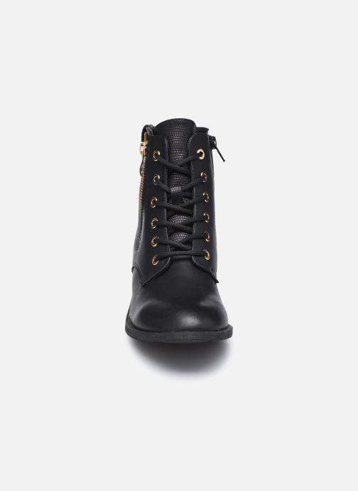 Stivaletti e tronchetti I Love Shoes THAYOUPI Nero modello indossato