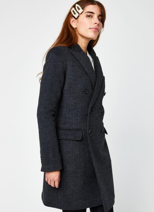 Vêtements Polo Ralph Lauren N Dlny Bzr-Blazer Noir vue droite