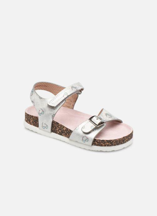Sandales et nu-pieds I Love Shoes CORINE Blanc vue détail/paire