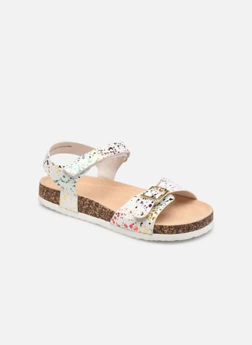 Sandales et nu-pieds I Love Shoes COULI Blanc vue détail/paire