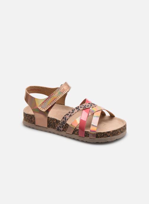 Sandales et nu-pieds I Love Shoes COTALIK Or et bronze vue détail/paire