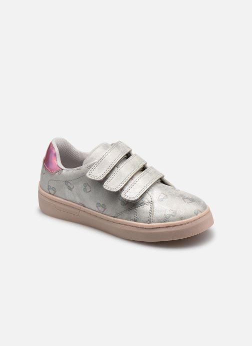 Baskets I Love Shoes COGLASS Blanc vue détail/paire