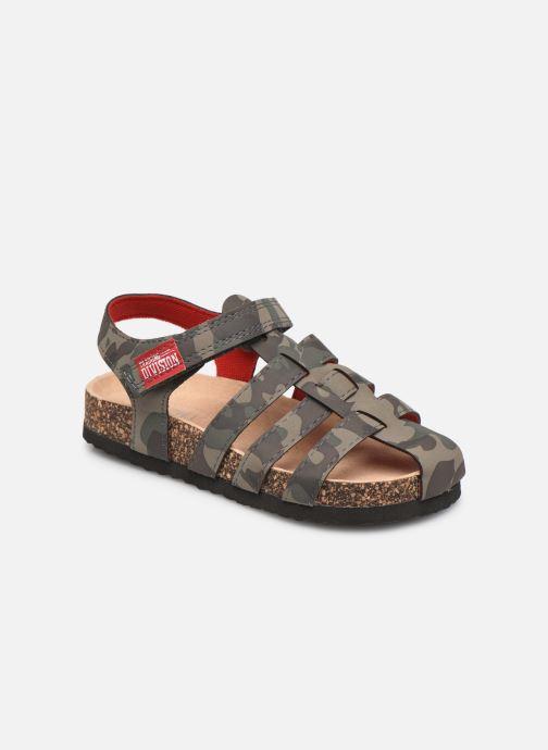 Sandales et nu-pieds I Love Shoes COARMY Vert vue détail/paire