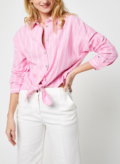 Vêtements Accessoires Tjw Relaxed Front Knot Shirt