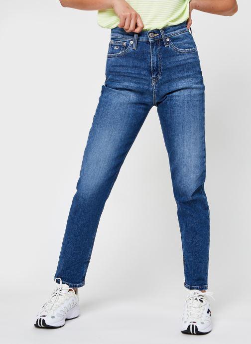 Ropa Tommy Jeans Izzy Hr Slim Ankle Ambc Azul vista de detalle / par