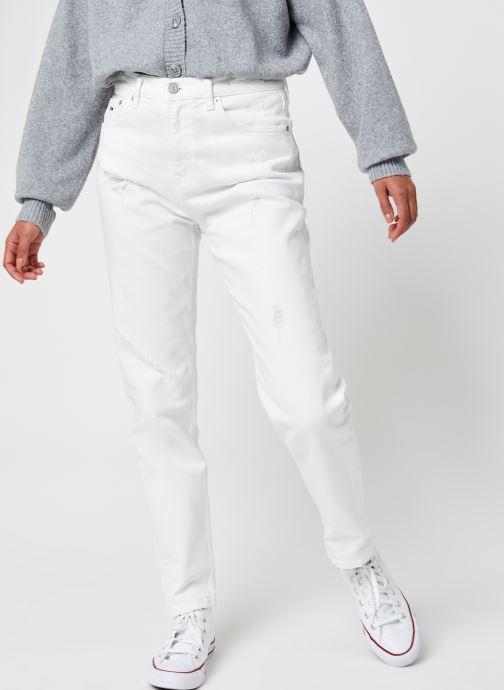 Ropa Tommy Jeans Izzy Hr Slim Ankle Owcd Blanco vista de detalle / par