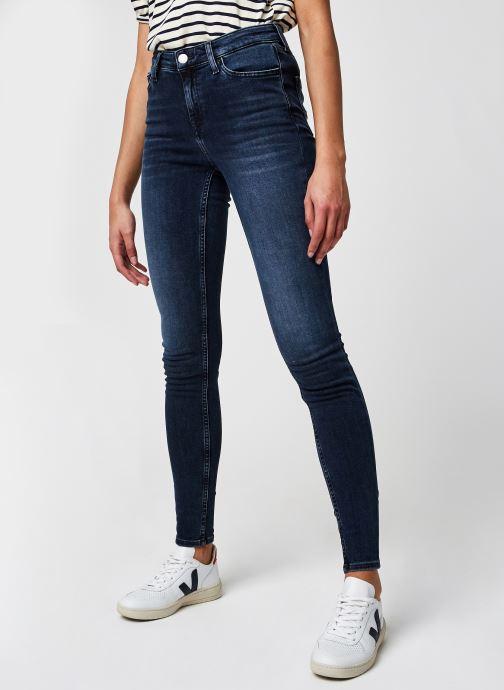 Vêtements Tommy Jeans Nora Mr Skny Abbs Bleu vue détail/paire
