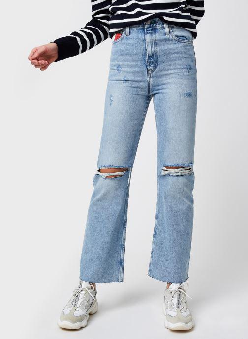 Ropa Tommy Jeans Harper Hr Flare Ank Ssplbrsd Azul vista de detalle / par