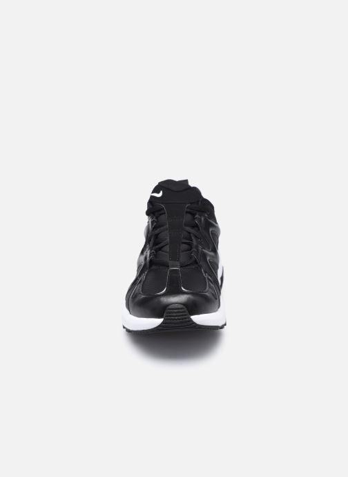 Baskets Nike Nike Air Max Graviton Lea Noir vue portées chaussures