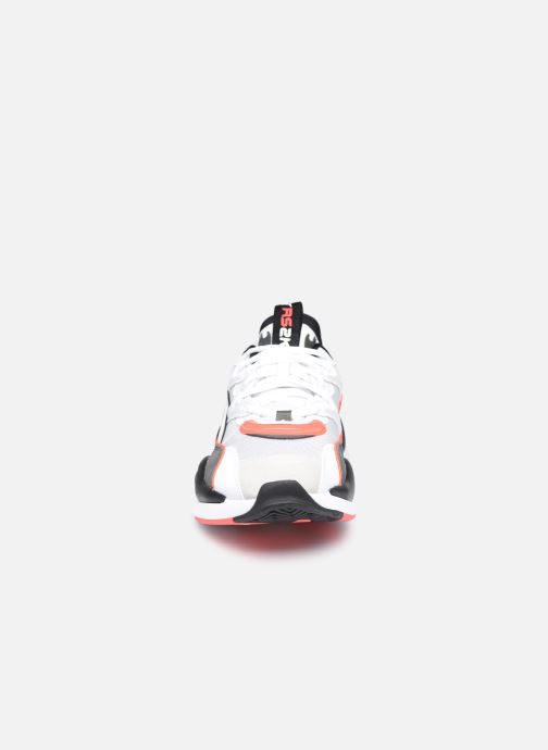 Baskets Puma Rs2K Messaging Gris vue portées chaussures