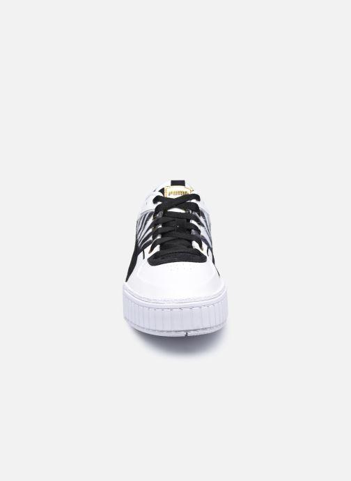 Baskets Puma Cali Sport W C Wns Blanc vue portées chaussures