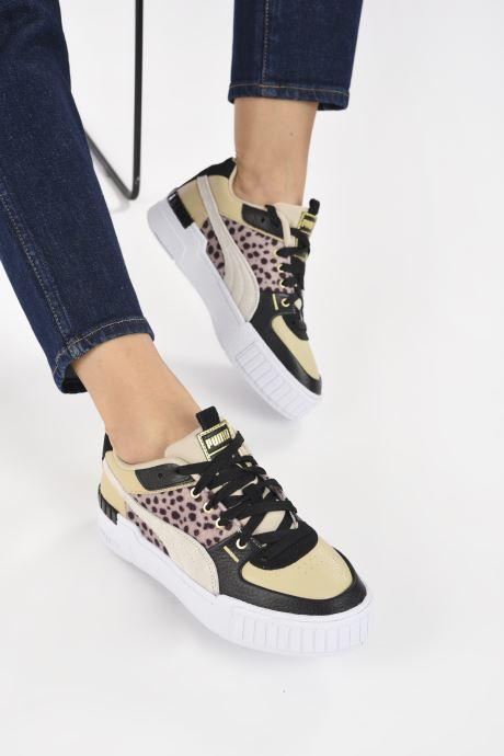 Sneaker Puma Cali Sport W C Wns beige ansicht von unten / tasche getragen