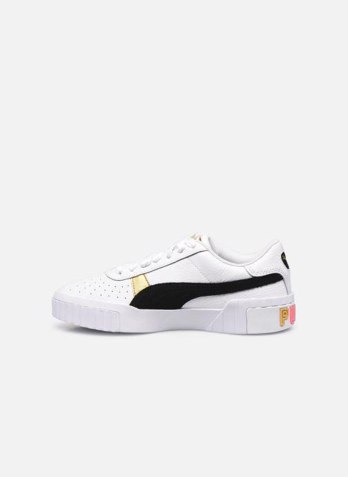Sneaker Puma Cali Varsity WnS weiß ansicht von vorne