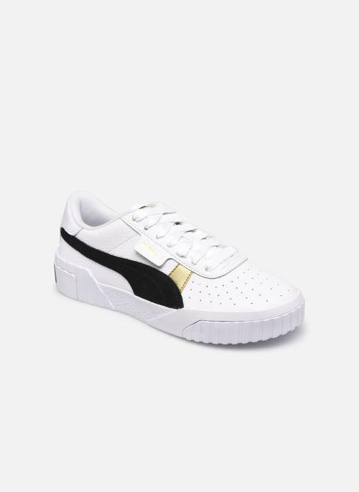 Sneaker Puma Cali Varsity WnS weiß detaillierte ansicht/modell
