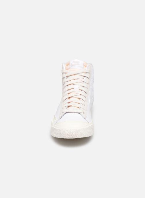 Sneaker Nike Nike Blazer Mid Vntg '77 weiß schuhe getragen