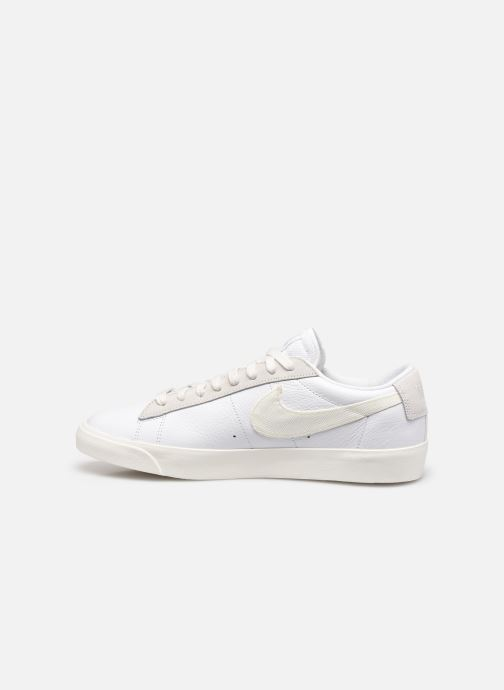 Baskets Nike Nike Blazer Low Leather Blanc vue face
