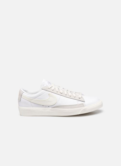 Baskets Nike Nike Blazer Low Leather Blanc vue derrière