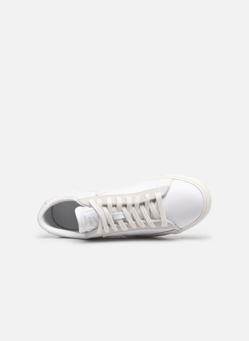 Baskets Nike Nike Blazer Low Leather Blanc vue gauche