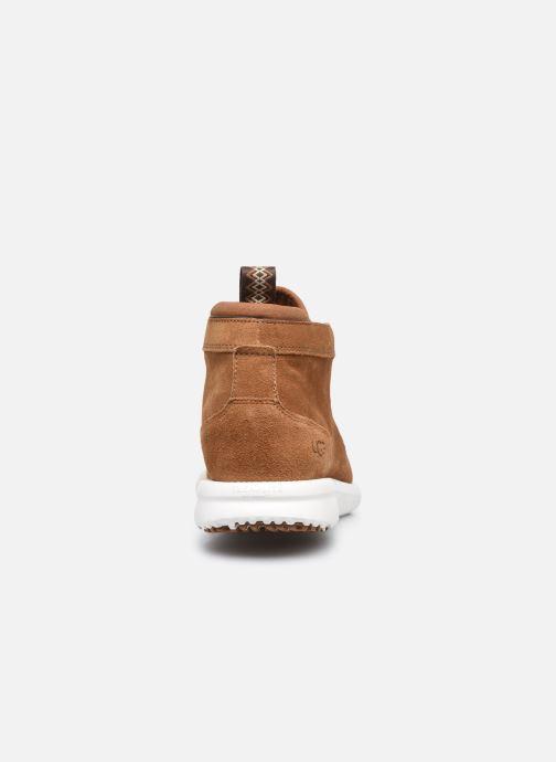 Sneakers UGG Union Chukka Suede Marrone immagine destra