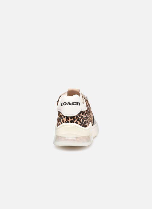 Baskets Coach Citysole Haircraft-Leather Court Beige vue droite