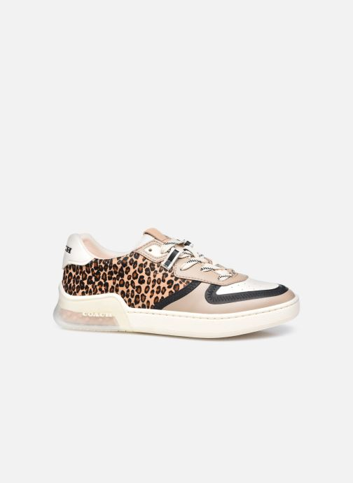 Sneakers Coach Citysole Haircraft-Leather Court Beige immagine posteriore