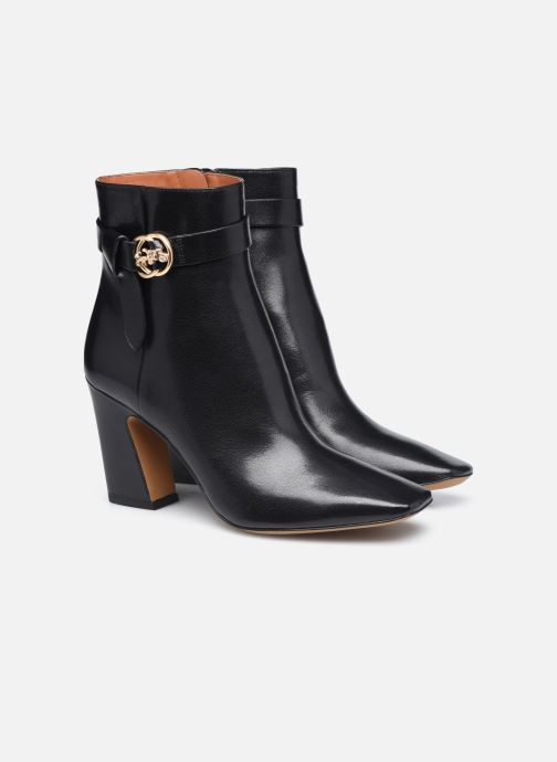 Bottines et boots Coach Teri Leather Bootie Noir vue 3/4