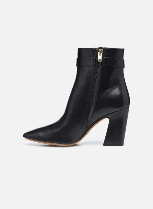 Bottines et boots Coach Teri Leather Bootie Noir vue face