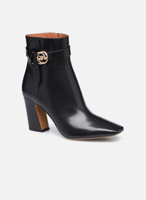 Bottines et boots Coach Teri Leather Bootie Noir vue détail/paire
