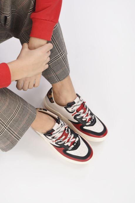 Baskets Coach Citysole Leather Court Blanc vue bas / vue portée sac