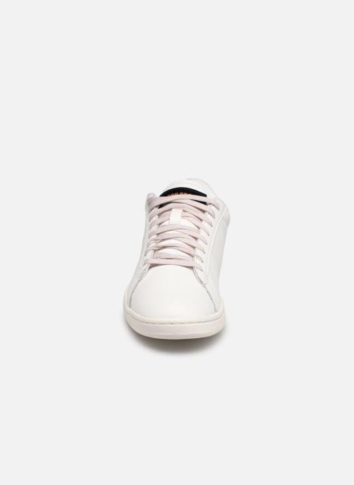 Baskets Le Coq Sportif Courtset W Patent Blanc vue portées chaussures