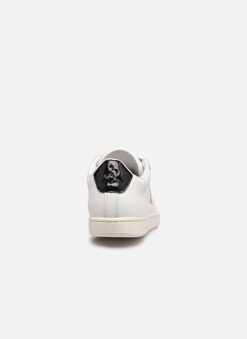Baskets Le Coq Sportif Courtset W Patent Blanc vue droite