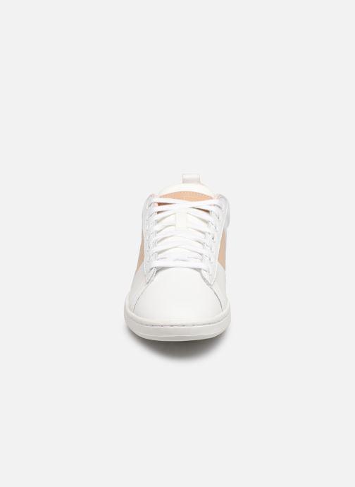 Baskets Le Coq Sportif Courtclassic W Blanc vue portées chaussures