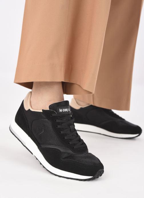 Sneakers Le Coq Sportif Jazy W Nero immagine dal basso