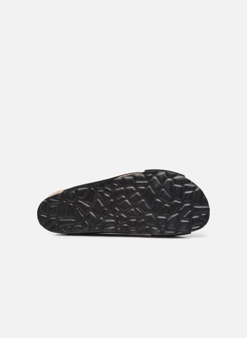 Wedges Bianco BIABETTY Cross Sandal Zwart boven